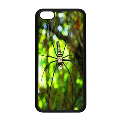 Spider Spiders Web Spider Web Apple Iphone 5c Seamless Case (black)