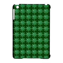 Snowflakes Square Apple Ipad Mini Hardshell Case (compatible With Smart Cover)