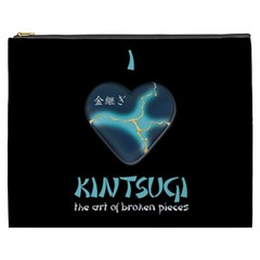 I Love Kintsugi Cosmetic Bag (xxxl) by Tatami