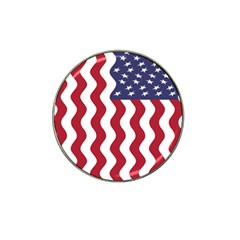 American Flag Hat Clip Ball Marker (10 Pack) by OneStopGiftShop