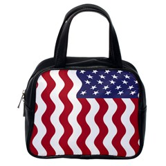 American Flag Classic Handbags (one Side) by OneStopGiftShop