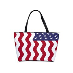American Flag Shoulder Handbags by OneStopGiftShop