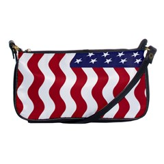 American Flag Shoulder Clutch Bags by OneStopGiftShop