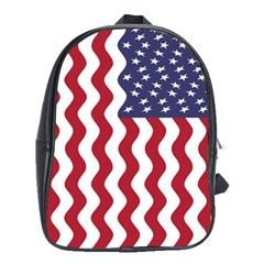 American Flag School Bags (xl)  by OneStopGiftShop