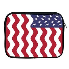 American Flag Apple Ipad 2/3/4 Zipper Cases by OneStopGiftShop