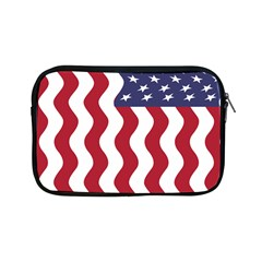 American Flag Apple Ipad Mini Zipper Cases by OneStopGiftShop