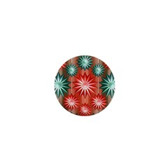 Star Pattern  1  Mini Magnets