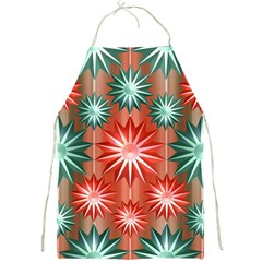 Star Pattern  Full Print Aprons