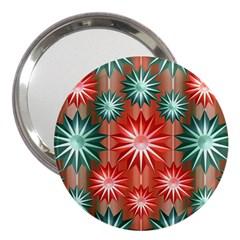Star Pattern  3  Handbag Mirrors