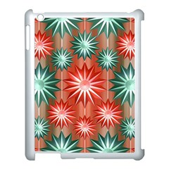 Star Pattern  Apple Ipad 3/4 Case (white)