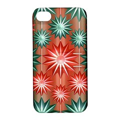 Star Pattern  Apple Iphone 4/4s Hardshell Case With Stand