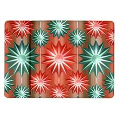 Star Pattern  Samsung Galaxy Tab 10 1  P7500 Flip Case