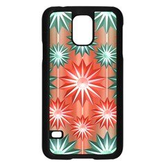 Star Pattern  Samsung Galaxy S5 Case (black)