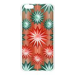 Star Pattern  Apple Seamless iPhone 6 Plus/6S Plus Case (Transparent) by Nexatart