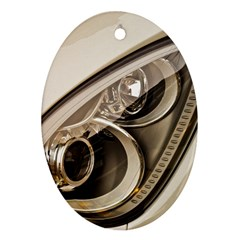Spotlight Light Auto Oval Ornament (two Sides) by Nexatart