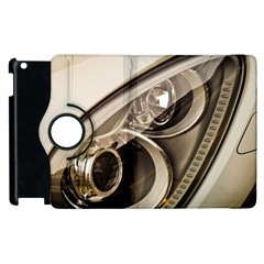 Spotlight Light Auto Apple Ipad 3/4 Flip 360 Case by Nexatart