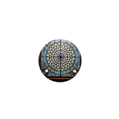Stained Glass Window Library Of Congress 1  Mini Magnets by Nexatart