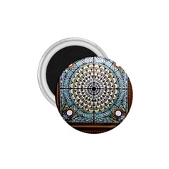 Stained Glass Window Library Of Congress 1 75  Magnets by Nexatart