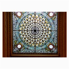 Stained Glass Window Library Of Congress Large Glasses Cloth (2 Side)