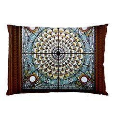 Stained Glass Window Library Of Congress Pillow Case by Nexatart