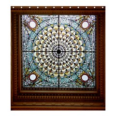 Stained Glass Window Library Of Congress Shower Curtain 66  X 72  (large)  by Nexatart