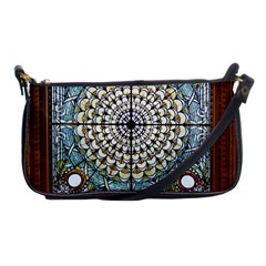 Stained Glass Window Library Of Congress Shoulder Clutch Bags
