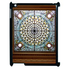 Stained Glass Window Library Of Congress Apple Ipad 2 Case (black)