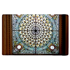 Stained Glass Window Library Of Congress Apple Ipad 3/4 Flip Case by Nexatart