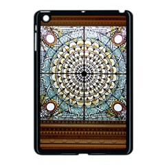 Stained Glass Window Library Of Congress Apple Ipad Mini Case (black) by Nexatart