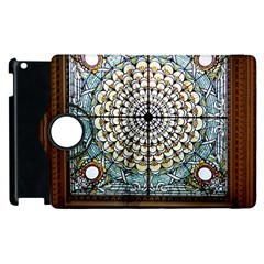Stained Glass Window Library Of Congress Apple Ipad 2 Flip 360 Case by Nexatart