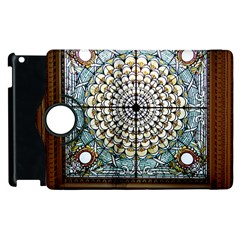 Stained Glass Window Library Of Congress Apple Ipad 3/4 Flip 360 Case by Nexatart