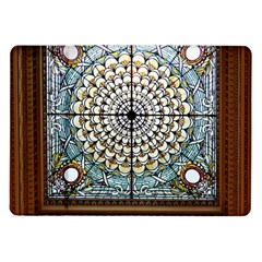 Stained Glass Window Library Of Congress Samsung Galaxy Tab 10 1  P7500 Flip Case by Nexatart