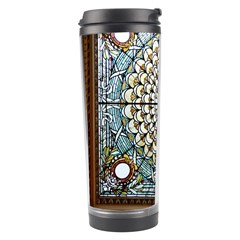 Stained Glass Window Library Of Congress Travel Tumbler by Nexatart
