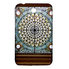 Stained Glass Window Library Of Congress Samsung Galaxy Tab 3 (7 ) P3200 Hardshell Case  by Nexatart