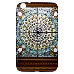 Stained Glass Window Library Of Congress Samsung Galaxy Tab 3 (8 ) T3100 Hardshell Case  by Nexatart