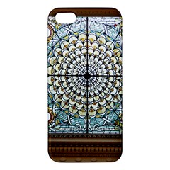 Stained Glass Window Library Of Congress Iphone 5s/ Se Premium Hardshell Case by Nexatart