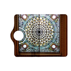 Stained Glass Window Library Of Congress Kindle Fire Hd (2013) Flip 360 Case by Nexatart