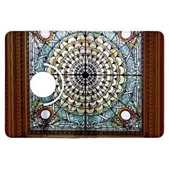 Stained Glass Window Library Of Congress Kindle Fire Hdx Flip 360 Case by Nexatart