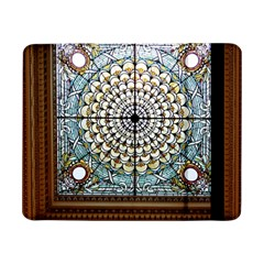 Stained Glass Window Library Of Congress Samsung Galaxy Tab Pro 8 4  Flip Case by Nexatart