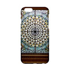 Stained Glass Window Library Of Congress Apple Iphone 6/6s Hardshell Case by Nexatart