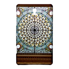 Stained Glass Window Library Of Congress Samsung Galaxy Tab S (8 4 ) Hardshell Case  by Nexatart