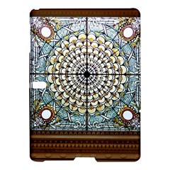 Stained Glass Window Library Of Congress Samsung Galaxy Tab S (10 5 ) Hardshell Case  by Nexatart