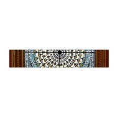 Stained Glass Window Library Of Congress Flano Scarf (mini) by Nexatart