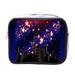 Star Advent Christmas Eve Christmas Mini Toiletries Bags by Nexatart