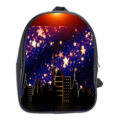 Star Advent Christmas Eve Christmas School Bags (xl)