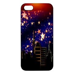 Star Advent Christmas Eve Christmas Iphone 5s/ Se Premium Hardshell Case by Nexatart
