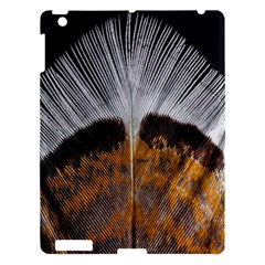 Spring Bird Feather Turkey Feather Apple Ipad 3/4 Hardshell Case