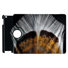 Spring Bird Feather Turkey Feather Apple Ipad 3/4 Flip 360 Case