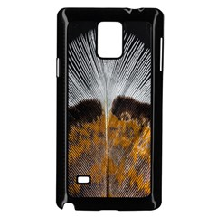 Spring Bird Feather Turkey Feather Samsung Galaxy Note 4 Case (Black)