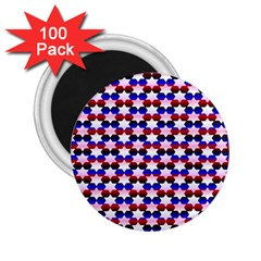Star Pattern 2 25  Magnets (100 Pack)